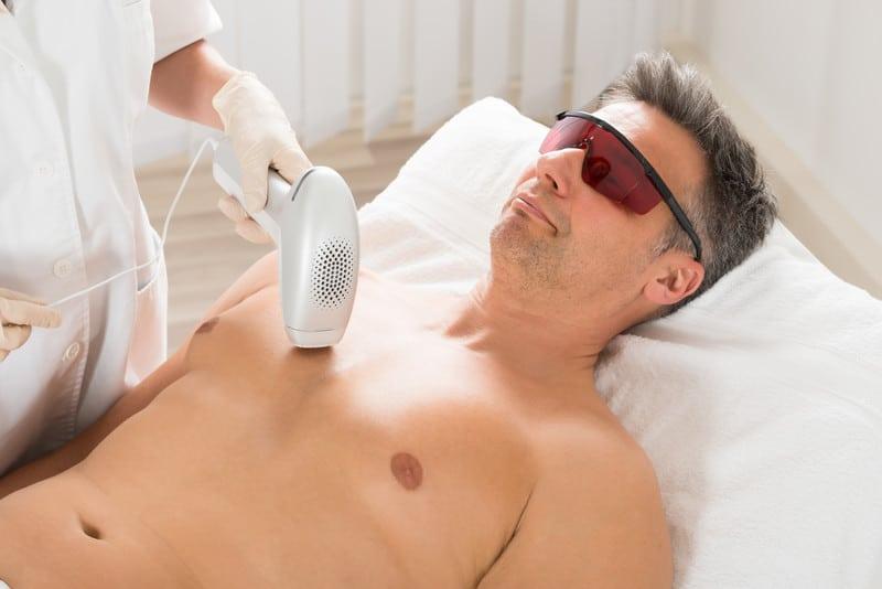 Laser Haarentfernung - dauerhaft und schmerzfrei
